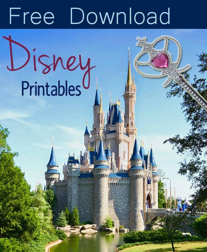 Free Disney Printables