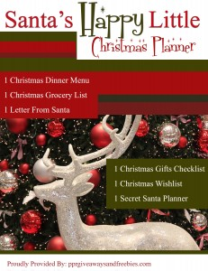 Santa's Happy Little Christmas Planner