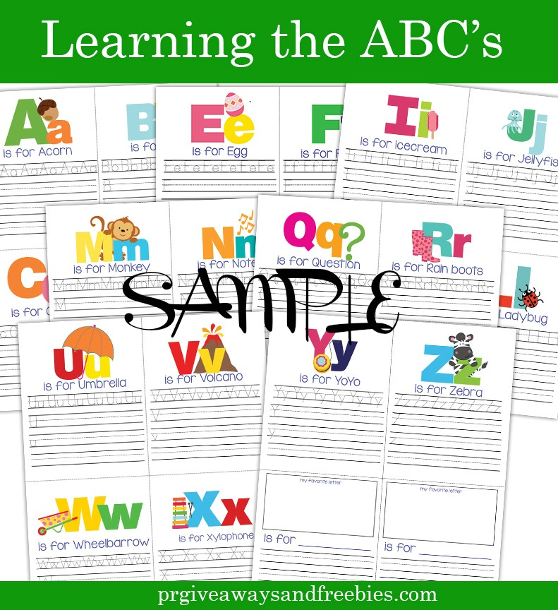 Learning the ABC's-Coloring Book