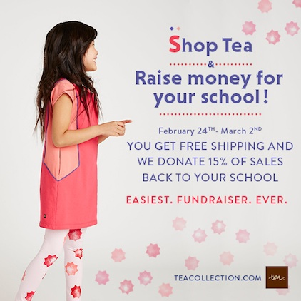 Tea Collections Spring School Days Fundraiser
