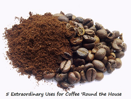 Extraordinary Uses for Coffee 'Round the House