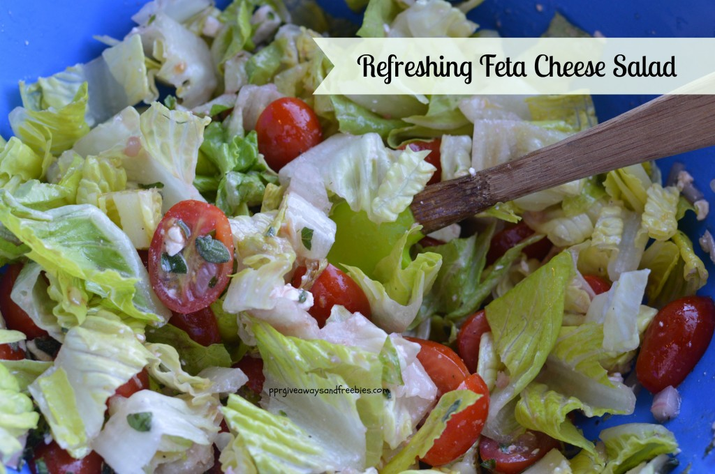 Refreshing Feta Cheese Salad