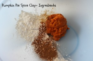 Pumpkin Spice Clay Ingredients