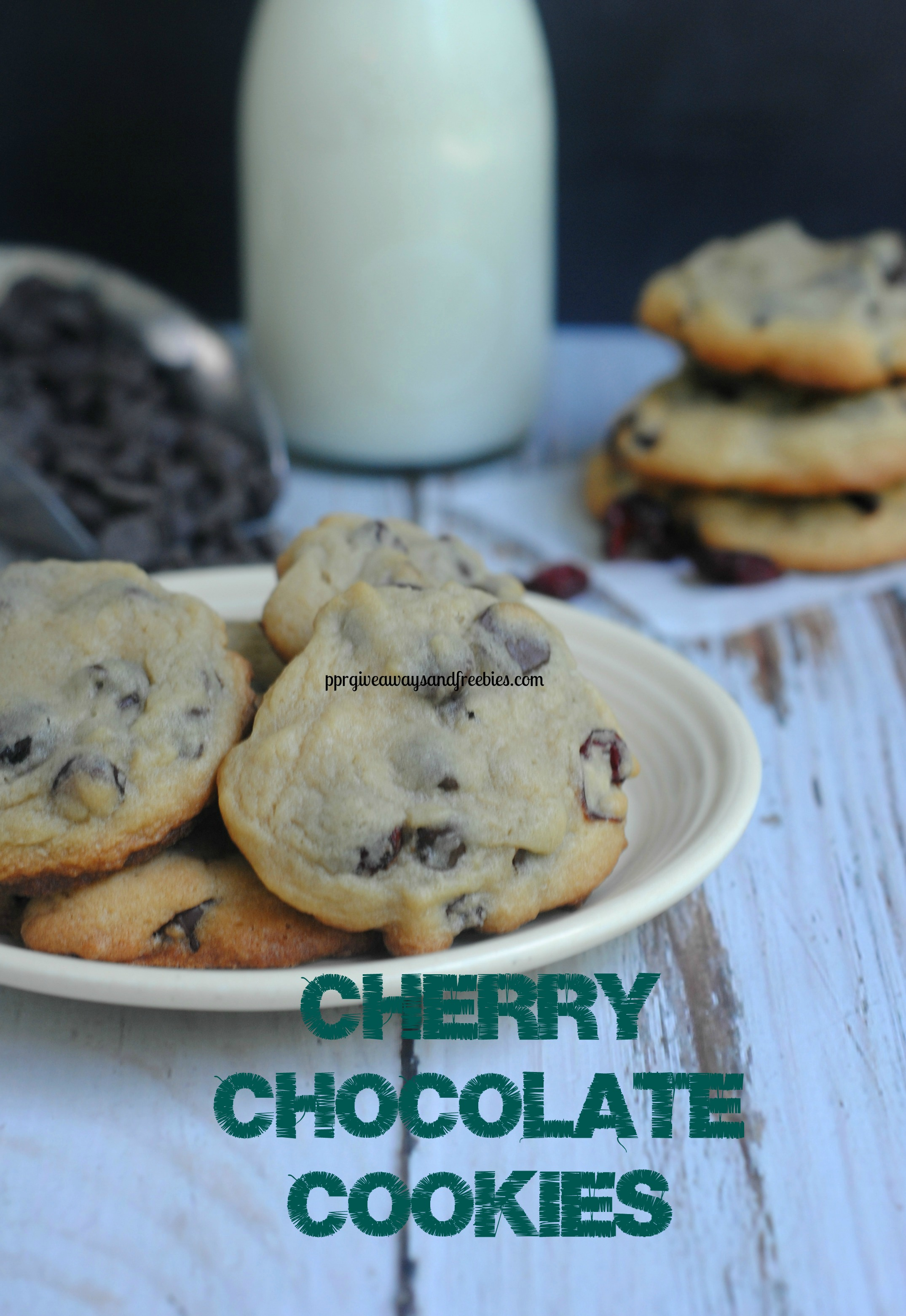 Tasty Chocolate Cherry Cookies