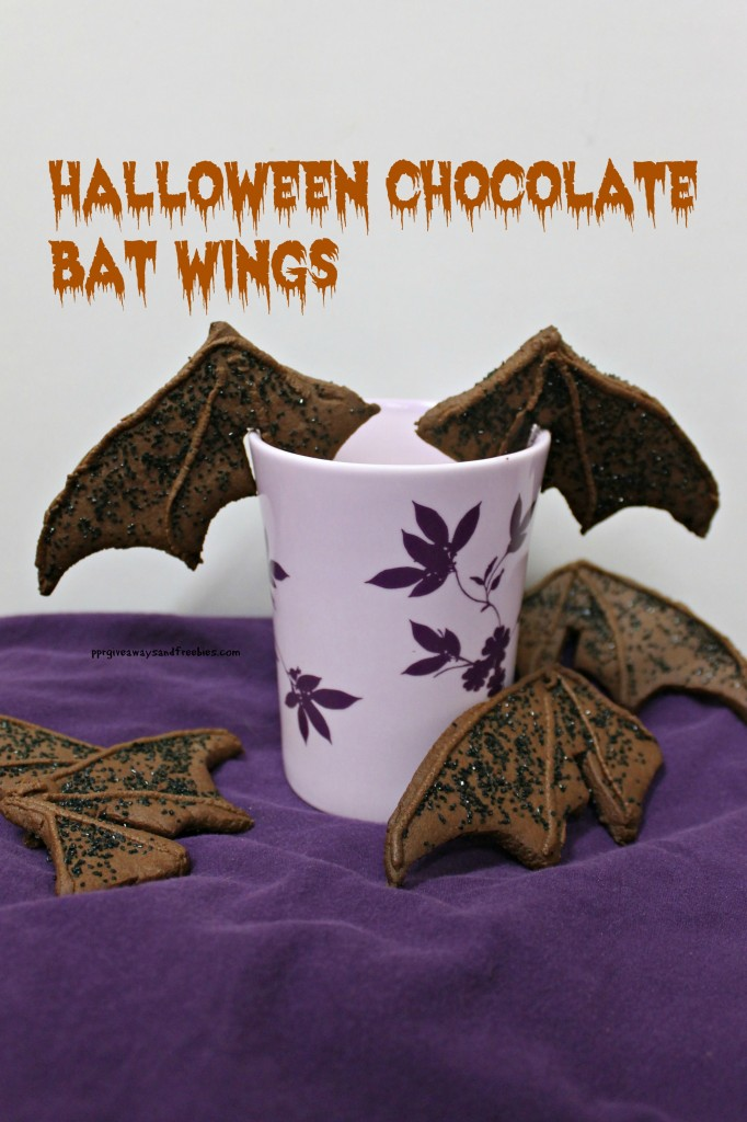 Halloween Chocolate Bat Wings