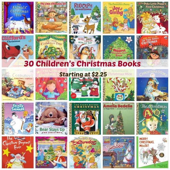30 Children's Christmas Books