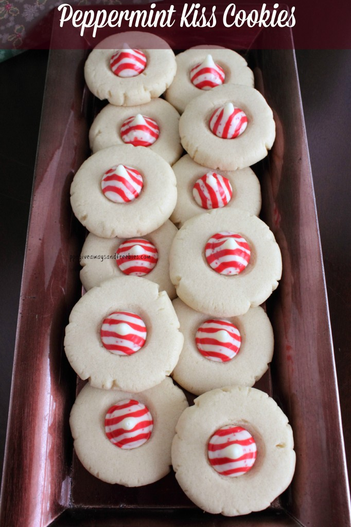 Holiday Baking-Peppermint Kiss Cookies