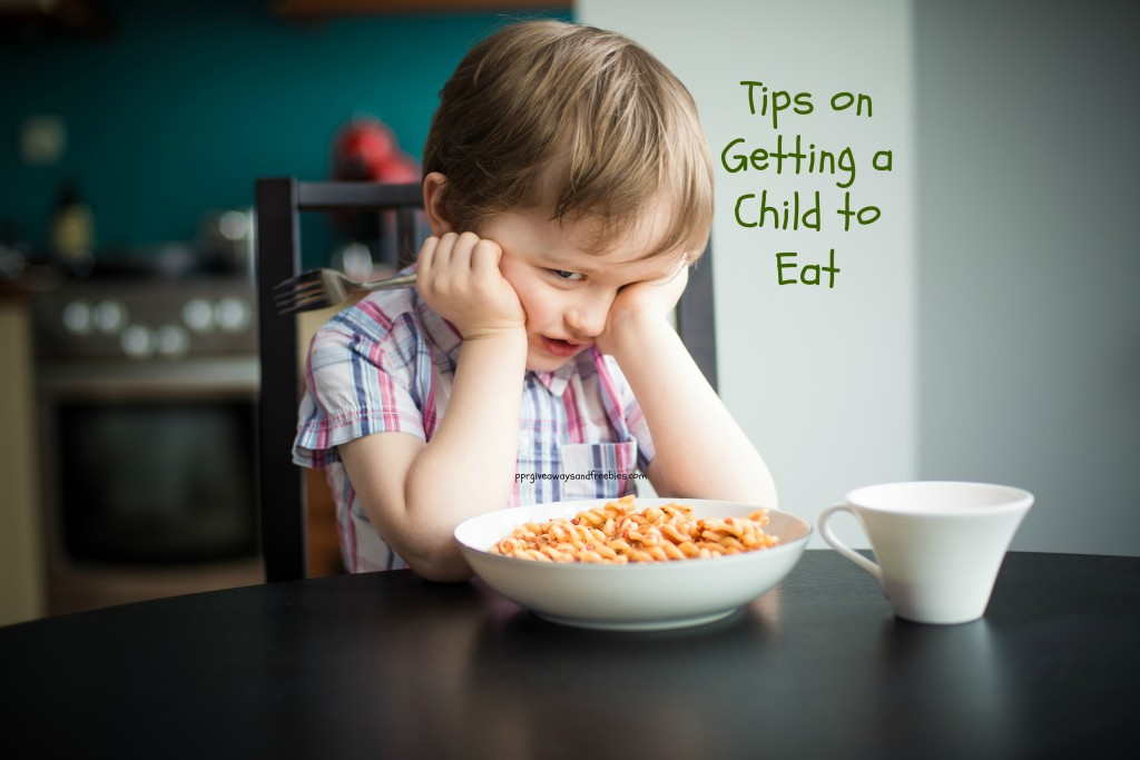 tips on getting a child to eat