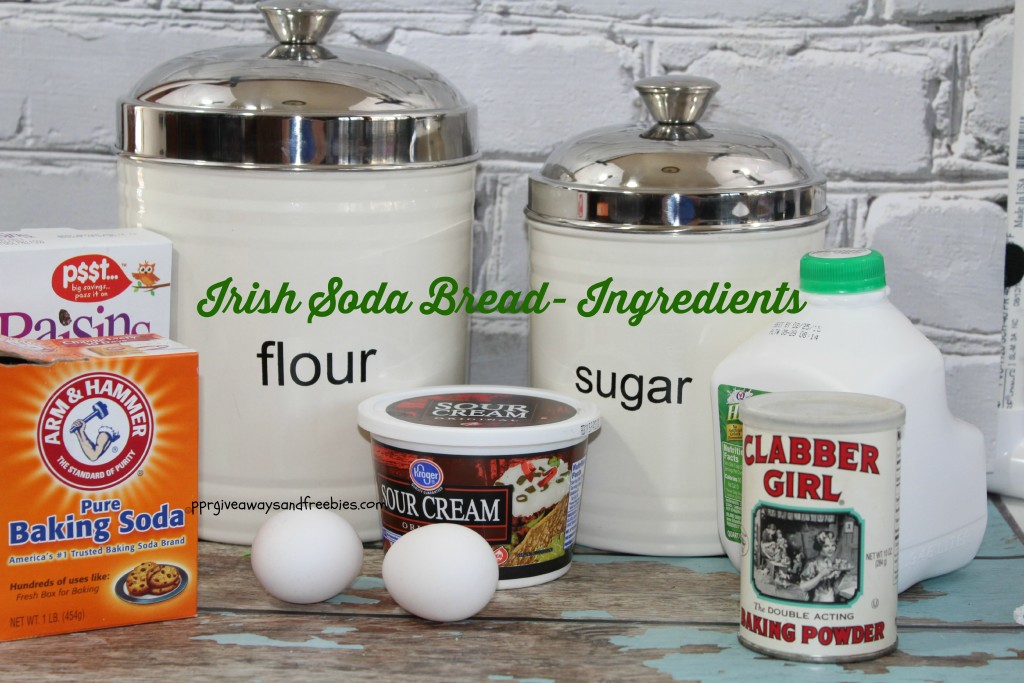 Irish Soda Bread- Ingredients
