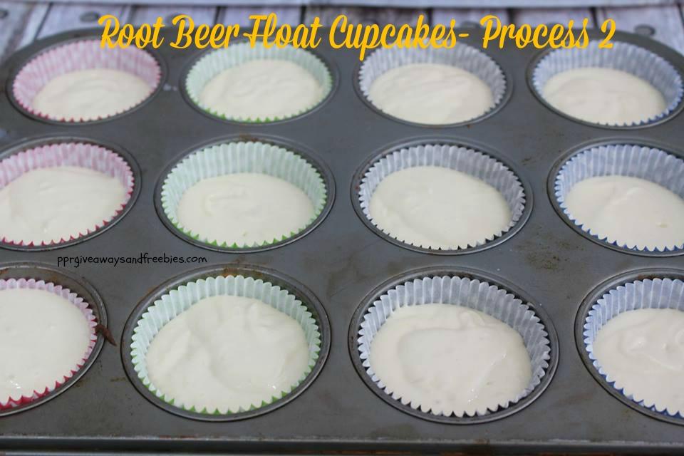 Root Beer Float Cupcakes-Process 2