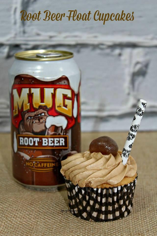 Root Beer Float Cupcakes-