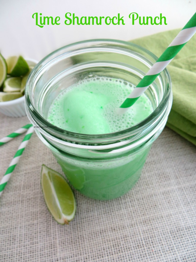 St Patrick's Day Lime Shamrock Punch