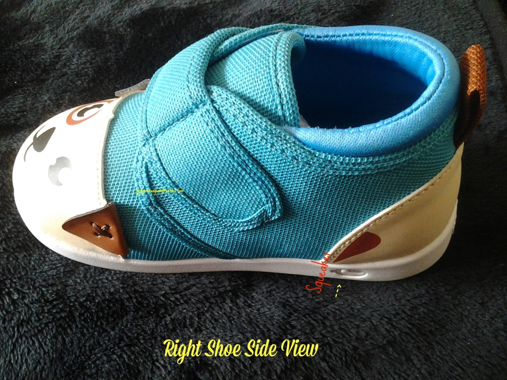 Right Shoe Side View