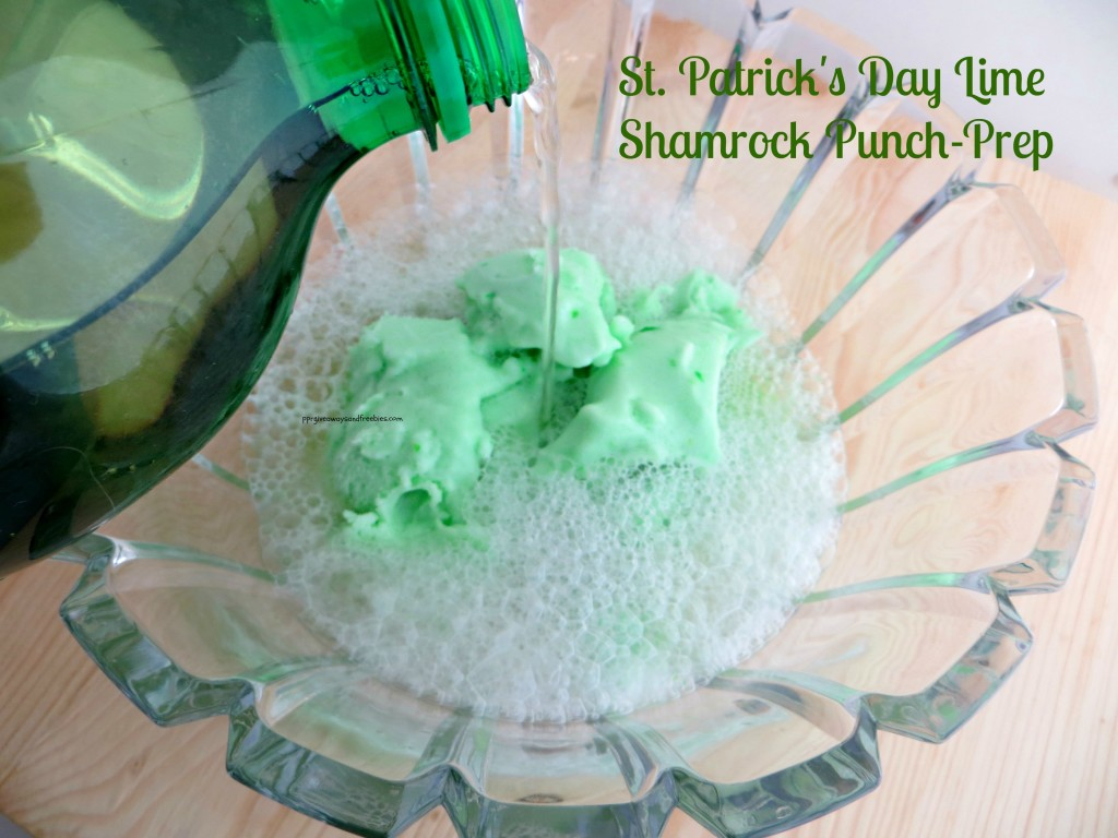 Green Lime Shamrock Punch