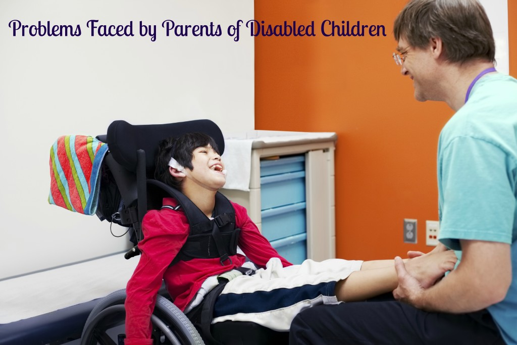Problems faced by parents of disabled children