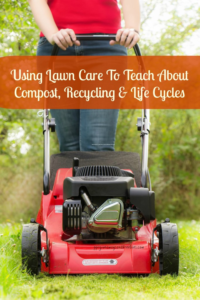 Using Lawncare to Teach About Compost Recycling, and Life Cycles