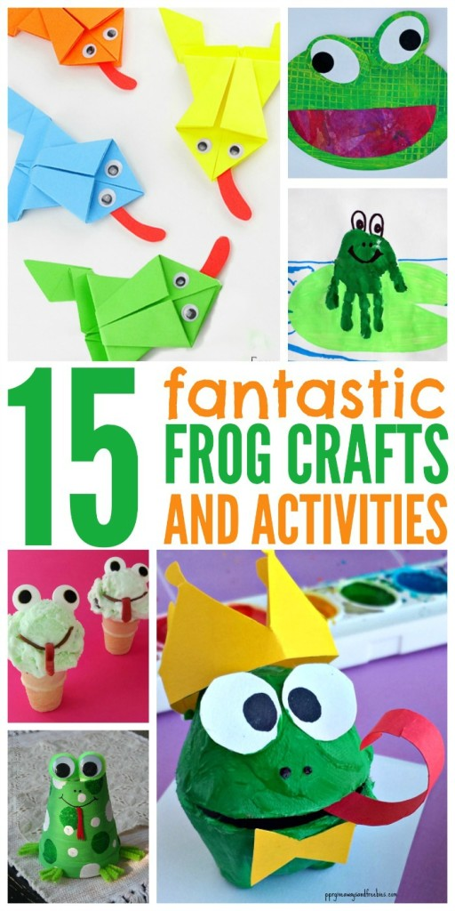 15 Fantastic Frog Crafts and Activities