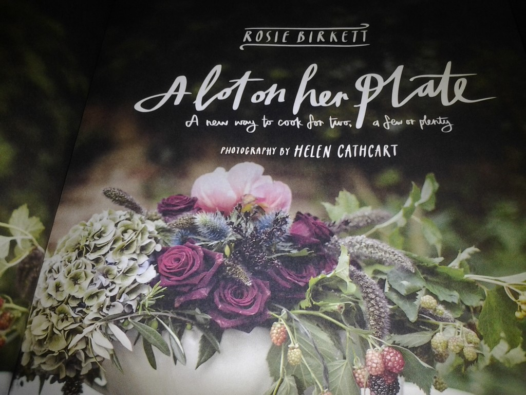 A Lot On Her Plate- Front Cover