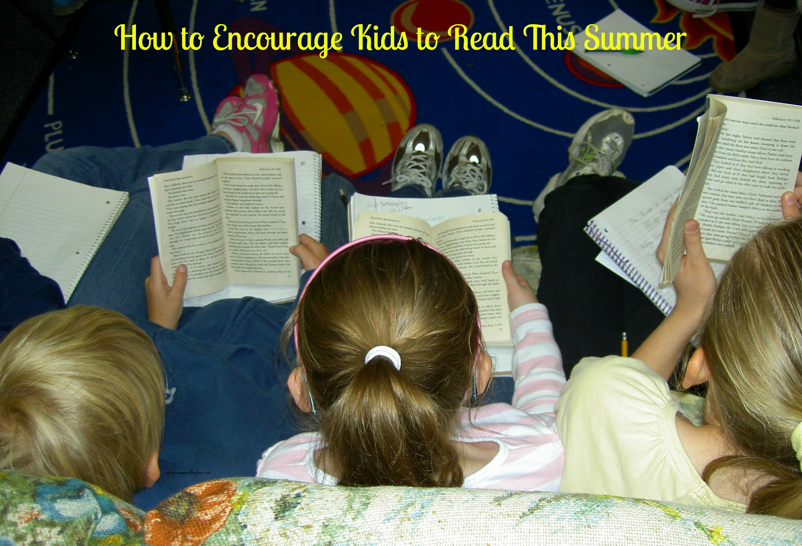How to Encourage Kids to Read This Summer