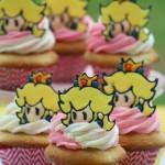 Princess Peach Cupcakes