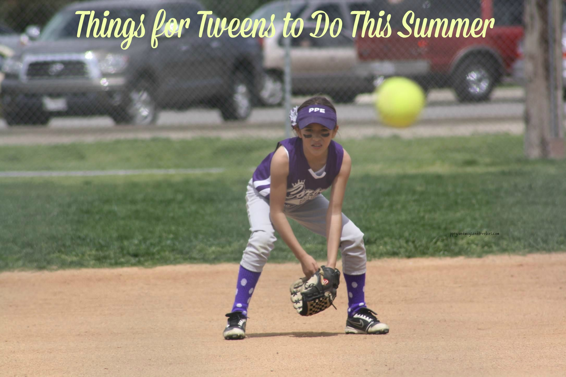 Things for Tweens to Do During the Summer