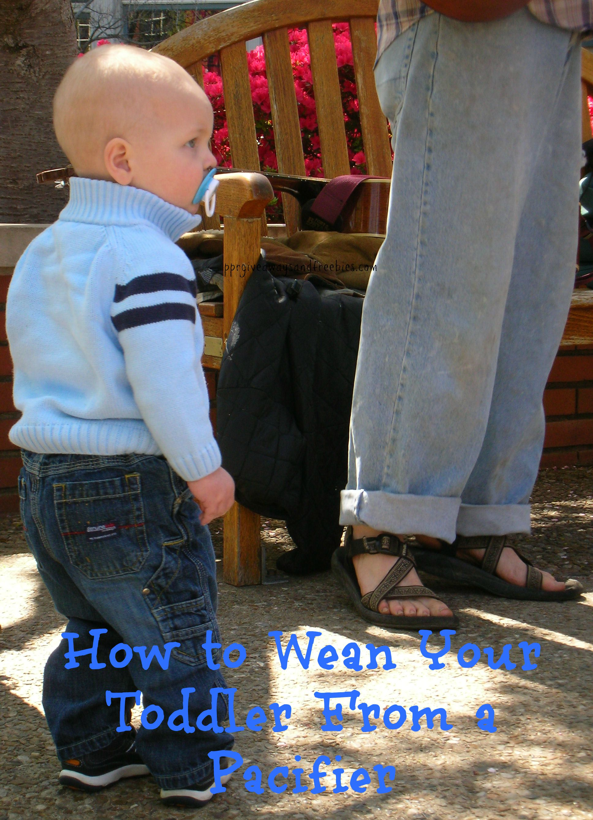 How to Wean Your Toddler from a Pacifier