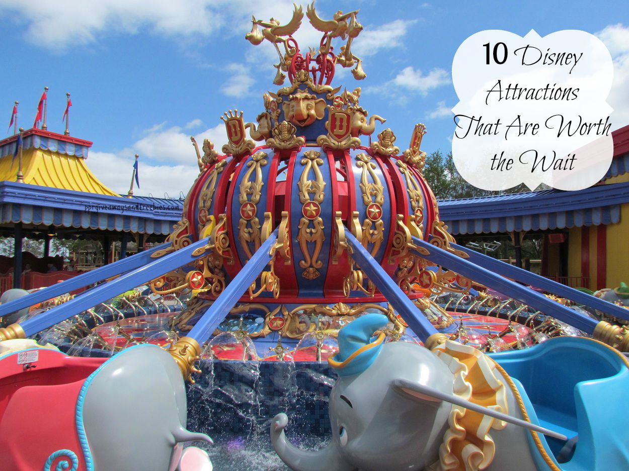 10 Popular Disney Attractions That Are Worth The Wait