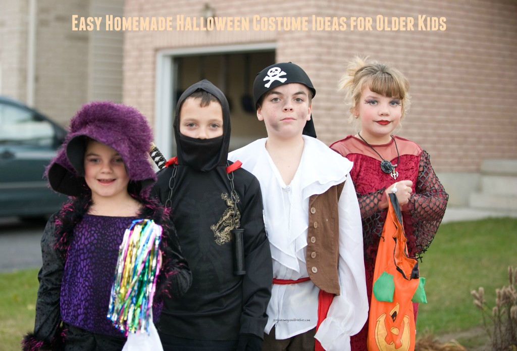 Easy Homemade Halloween Costume Ideas for Older Kids