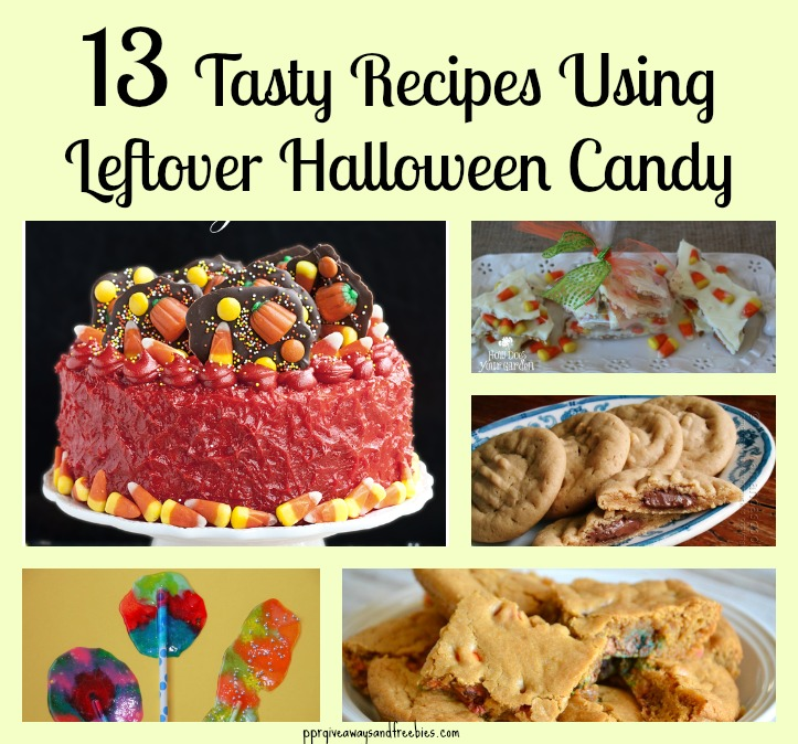 13 Tasty Recipes Using Leftover Halloween Candy