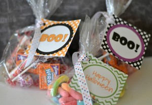 Halloween Printables- Boo Tags for Gift Bags