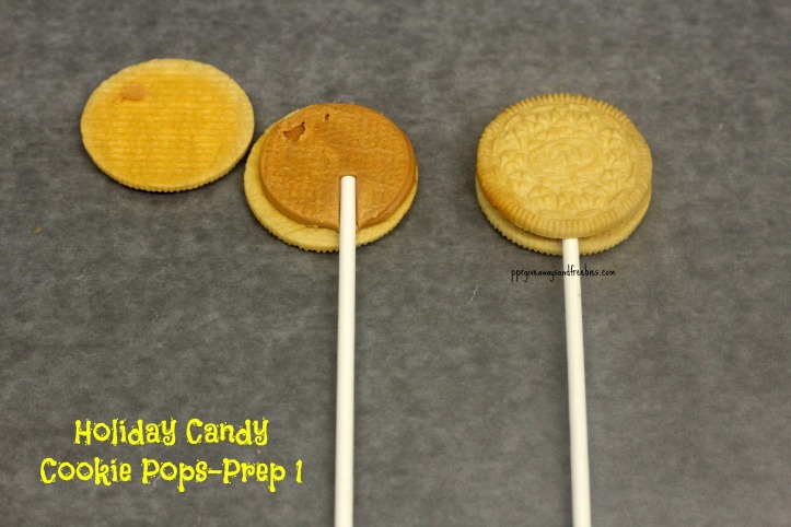 Holiday Candy Cookie Pops