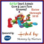 VTech Go! Go! Smart Animals Grow & Learn Giveaway
