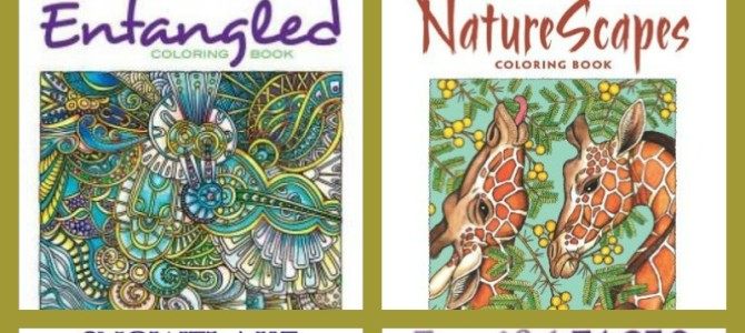 Relieve Stress by Coloring-100 Coloring Books for Adults