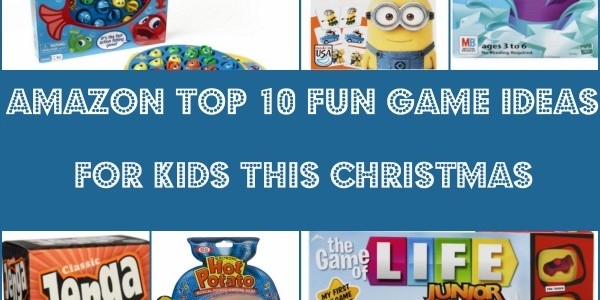 Top 10 Fun Game Ideas for Kids This Christmas