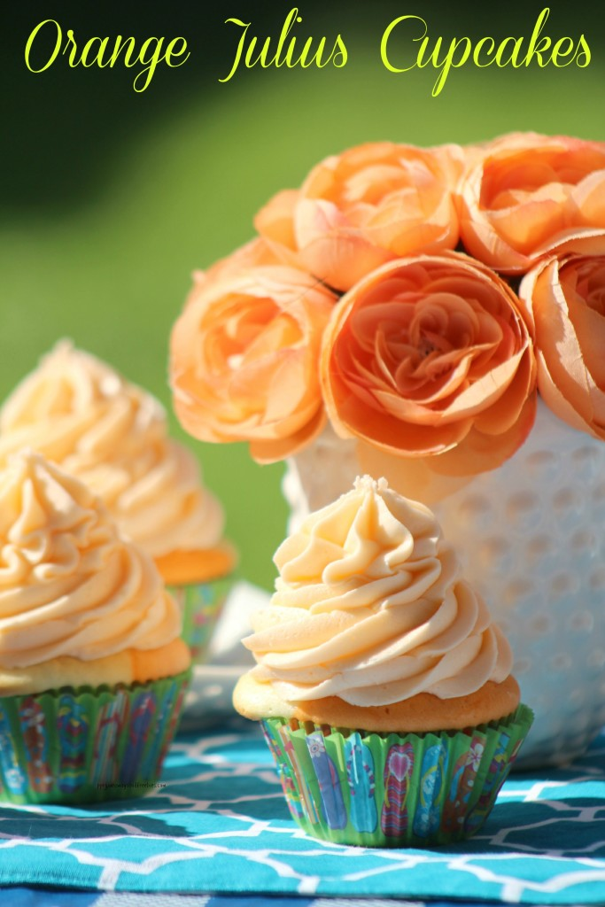 Orange Julius Cupcakes 1