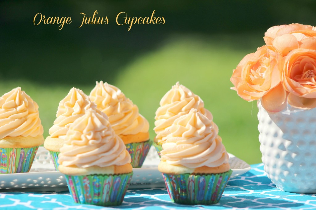 Orange Julius Cupcakes 2