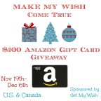 Make My Wish Come True-$100 Amazon Gift Card