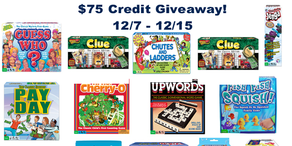 $75 Credit for Winning Moves Games