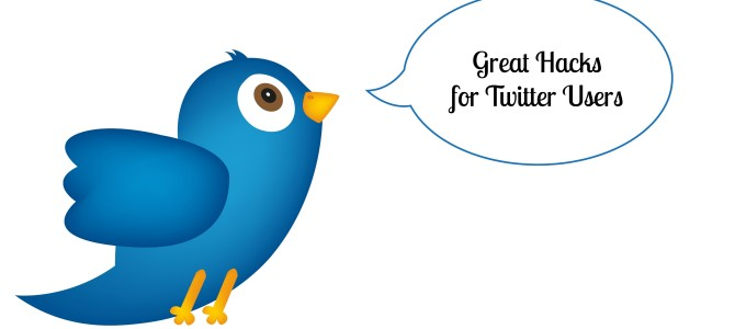 Great Hacks for Twitter Users