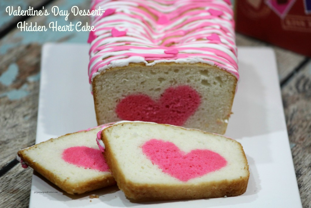 Valentine's Day Dessert-Hidden Heart Cake