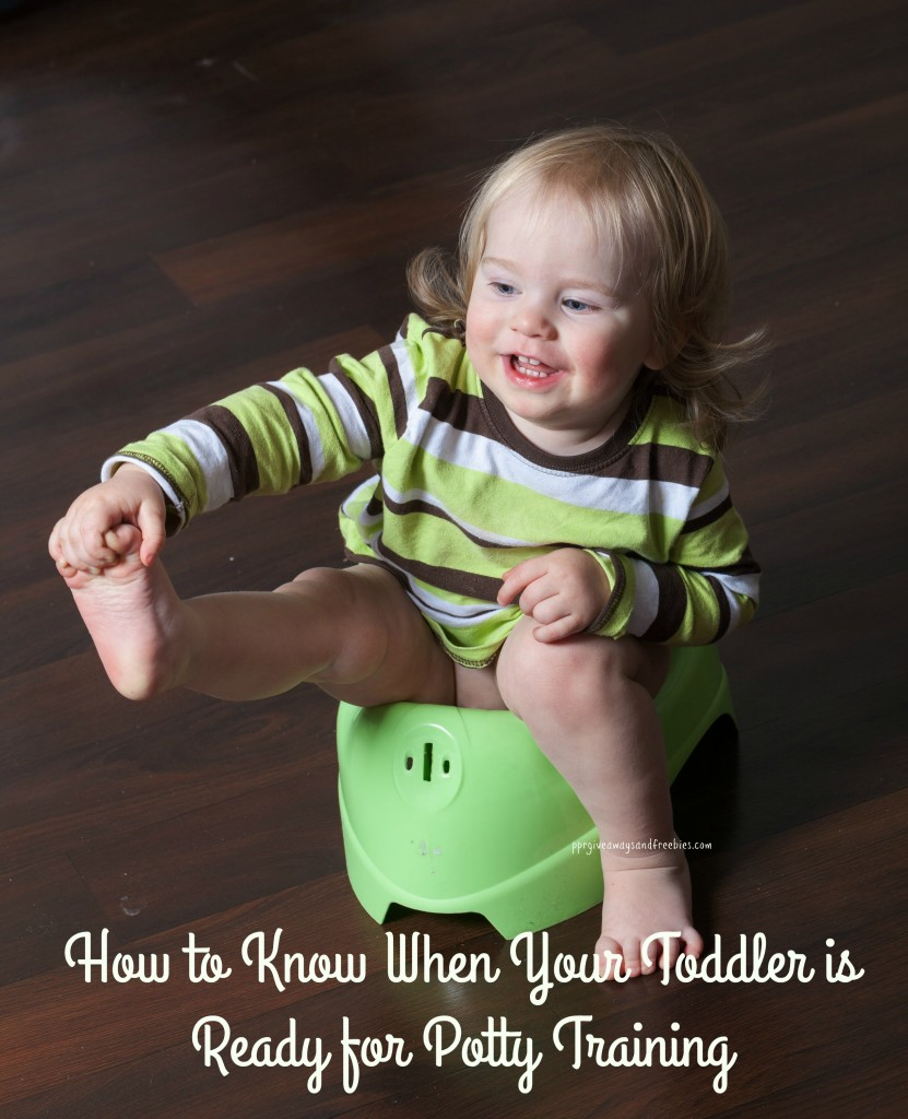 How to Know When Your Toddlers is Ready for Potty Training