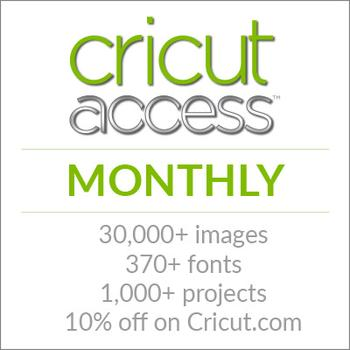 Cricut Access Monthly Subscription