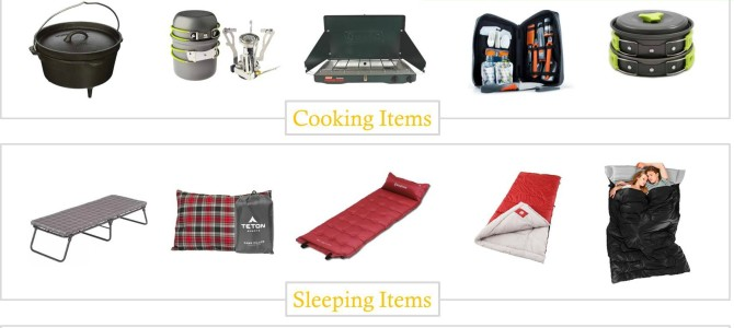 20 Camping Essentials for Under $50