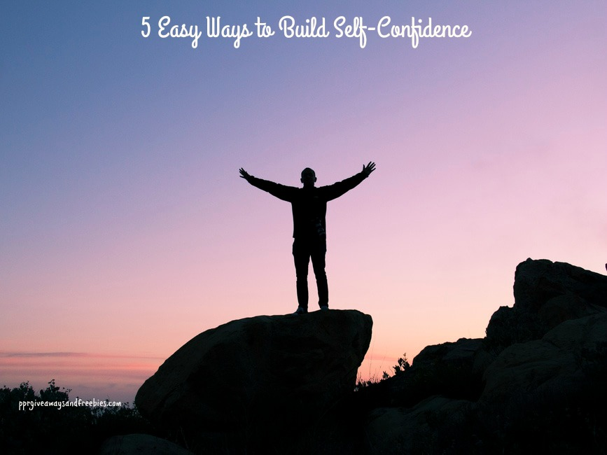 5 Easy Ways to Build Self-Confidence