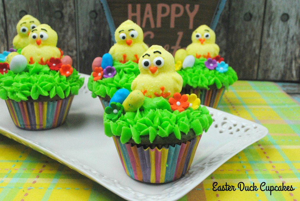 Easter Duck Cupcakes H