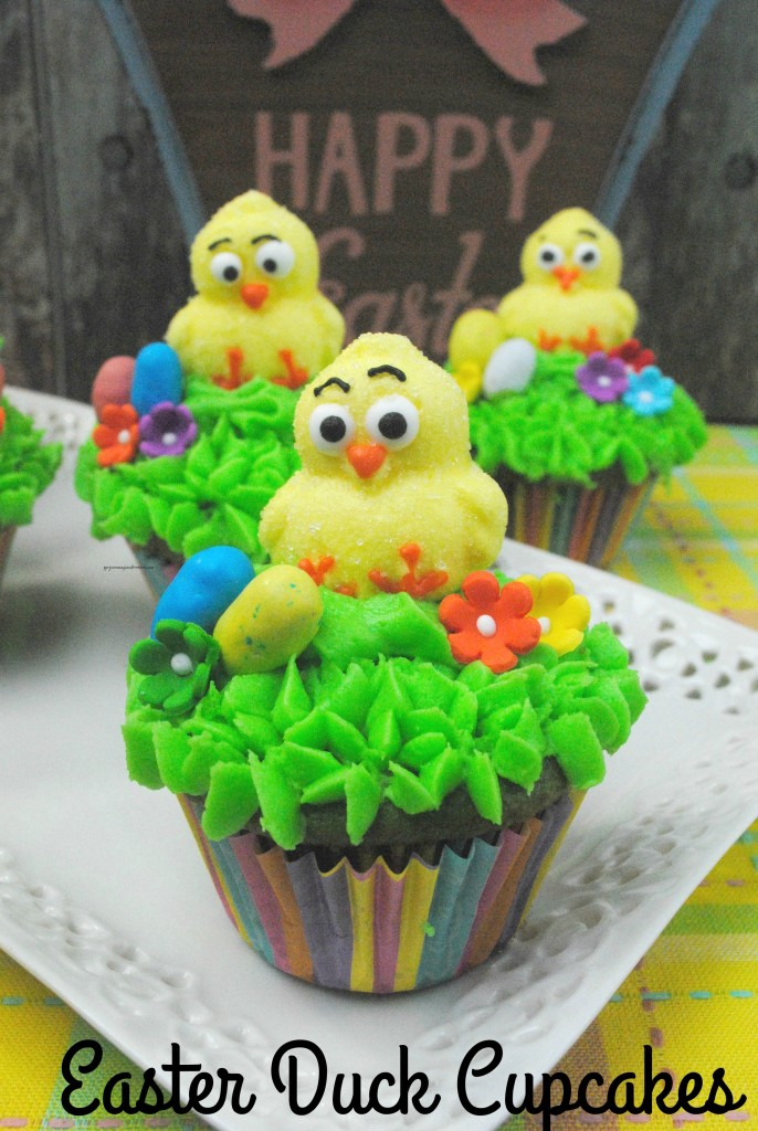 Easter Duck Cupcakes V