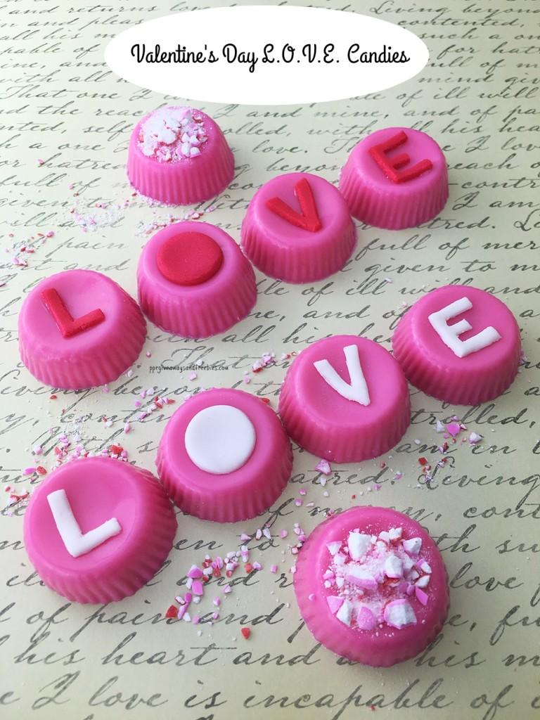 Valentine's Day L.O.V.E. Candies