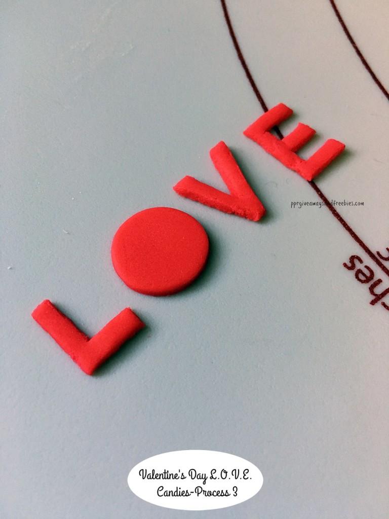 Valentine's Day L.O.V.E. Candies-Process 3