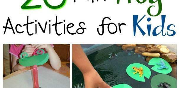 20 Fun Frog Activities For Kids