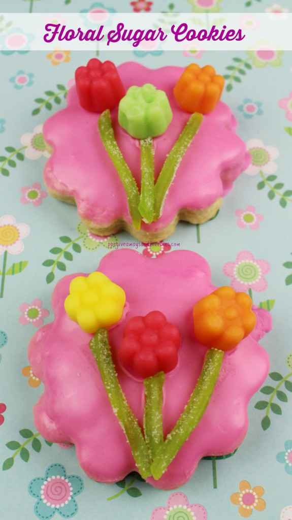 Floral Sugar Cookies 3